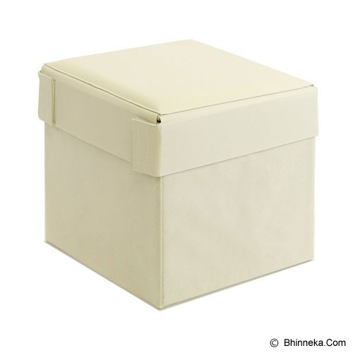 FUNIKA Cube Storage Stool [10060R1] - Ivory - Container